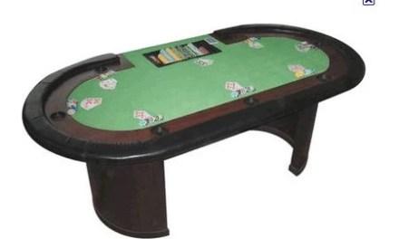 Deux tables de poker à vendre