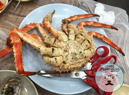 首爾,自由行,帝王蟹,皇帝食堂