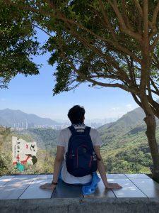 菠蘿山,大峽谷,香港大峽谷,香港壯觀,下白泥,情侶行山