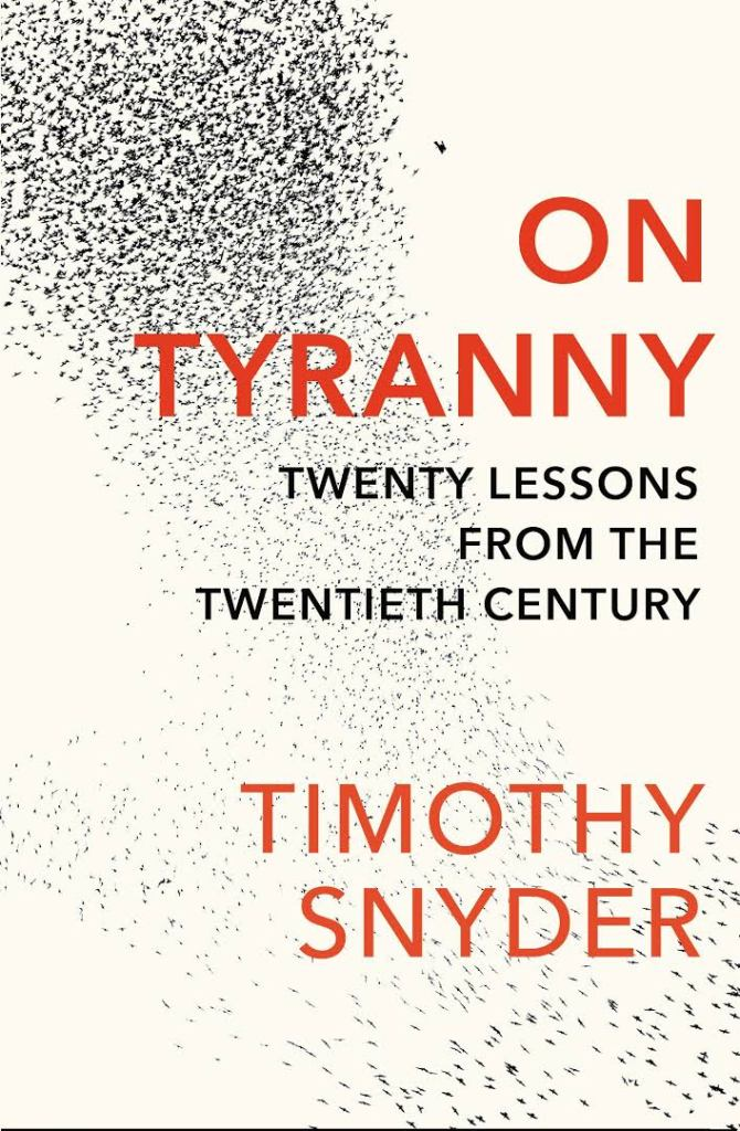 On Tyranny《論暴政》
