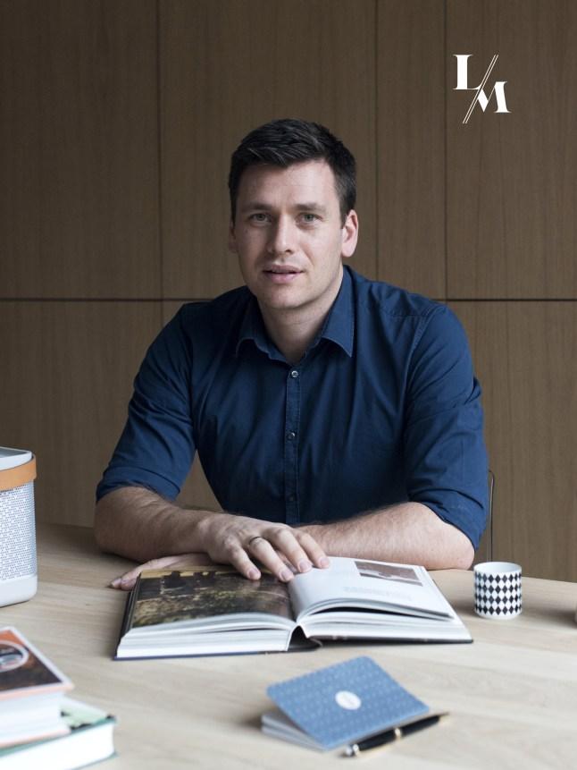 Dries Boven, owner of Luxury for men