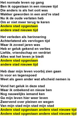 Andere stad