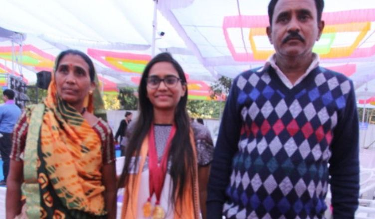 The daughter of a retail working family earned a Gold in Bio Chemistry at MS University by studying education ... Read ...