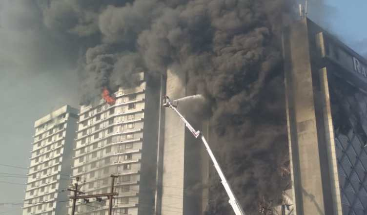 Surat: Fire in 14-storey textile market, fire unmanageable for 9 hours: Brigade call announced