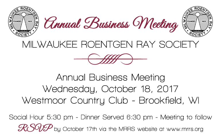 MRRS Annual Business Meeting 2017