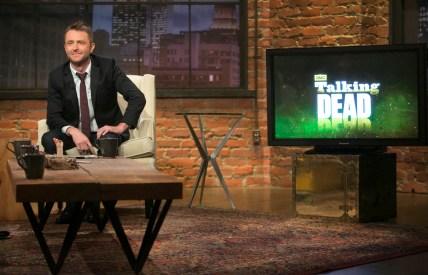 Chris Hardwick - Talk Dead _ Season 5, Episode 3 - Photo Credit: Jordin Althaus/AMC