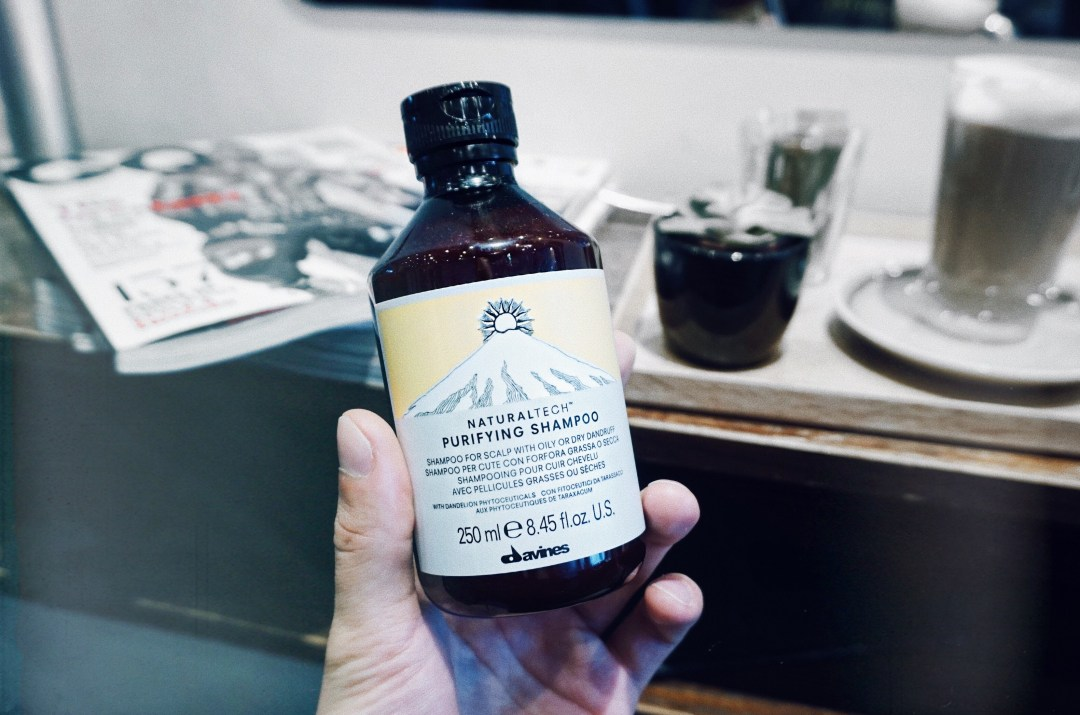 NaturalTech Purifying Shampoo from Davines. Concrete Hairdressing in Coven Garden. Book Your Lifestyle. / Mr. Salt and Pepper blog by Skirmantas Petraitis