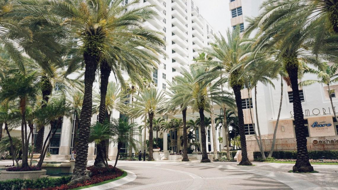 Loews Hotel in South Beach, Miami, Florida.