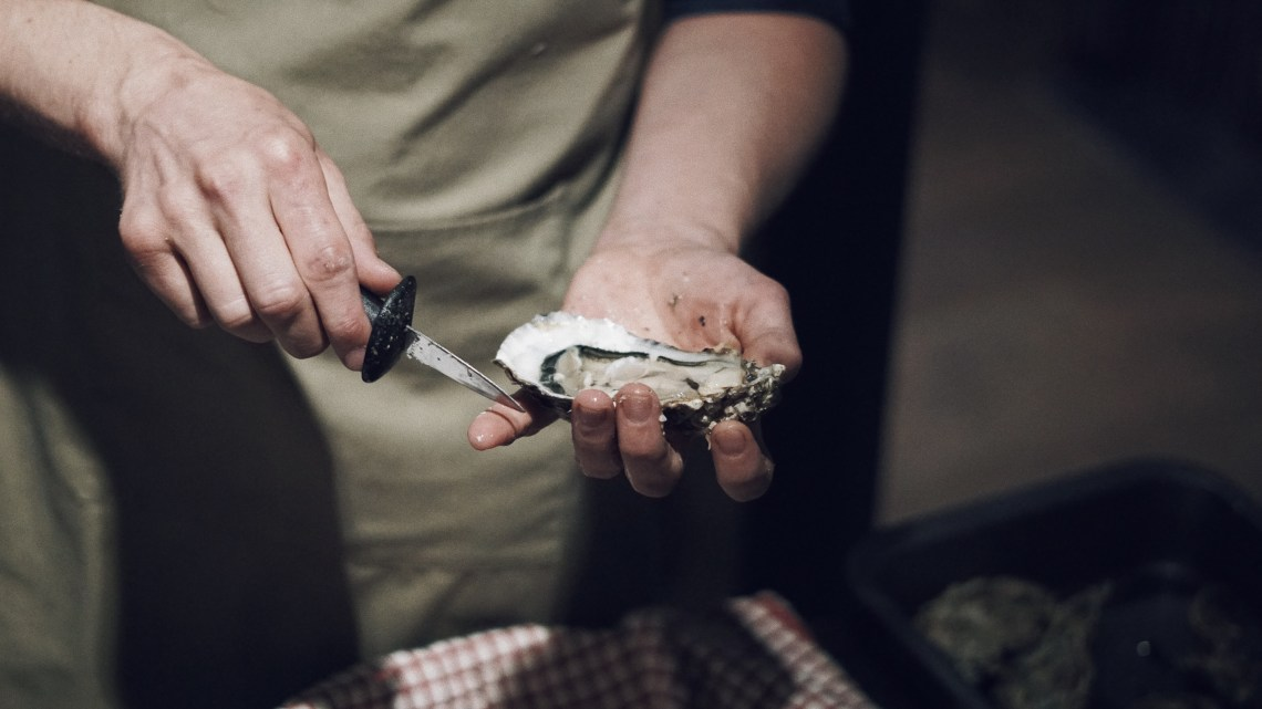 Oliver Sweeney store in Covent Garden. Oysters by Oystermen. Blog by Skirmantas Petraitis.