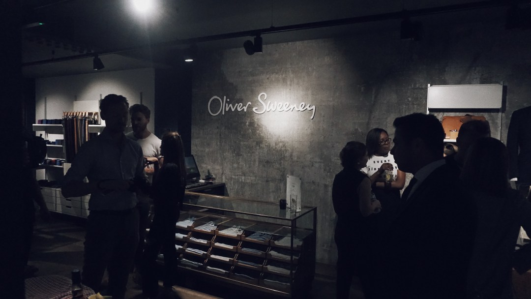 Oliver Sweeney store in Covent Garden. Blog by Skirmantas Petraitis.