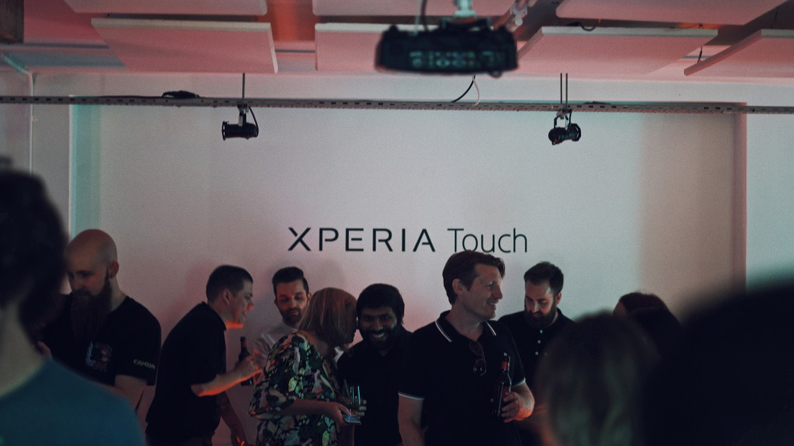 Sony Xperia Touch launch event at Carousel London. Blog by Skirmantas Petraitis. Takumi app.