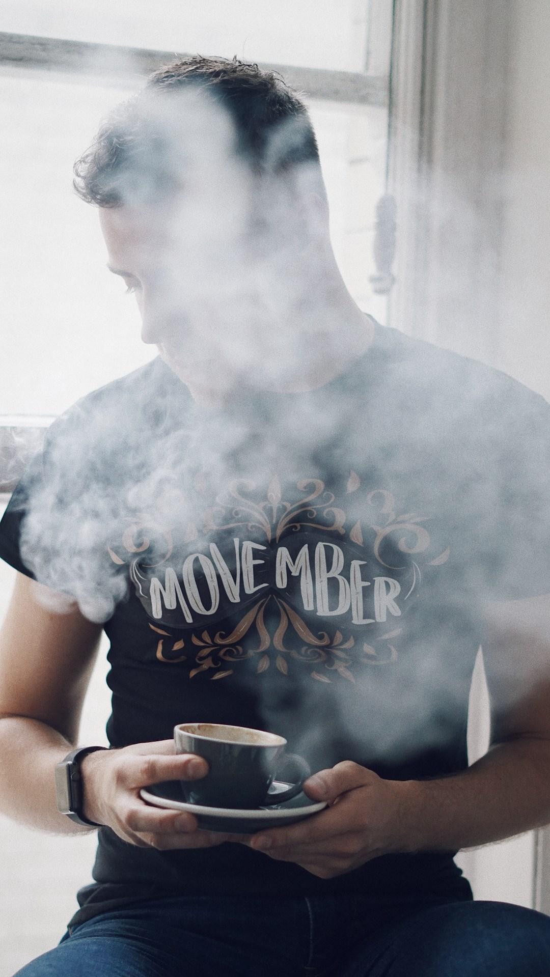 Movember: Men's Health Talk. Written by Peter Minkoff. Blog by Skirmantas Petraitis.
