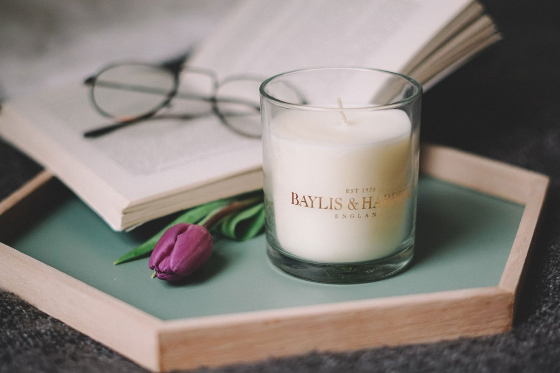 Debenhams Mother's Day Gift Guide. Baylis & Harding - Sweet Mandarin Single Boxed Candle. Blog by Skirmantas Petraitis.