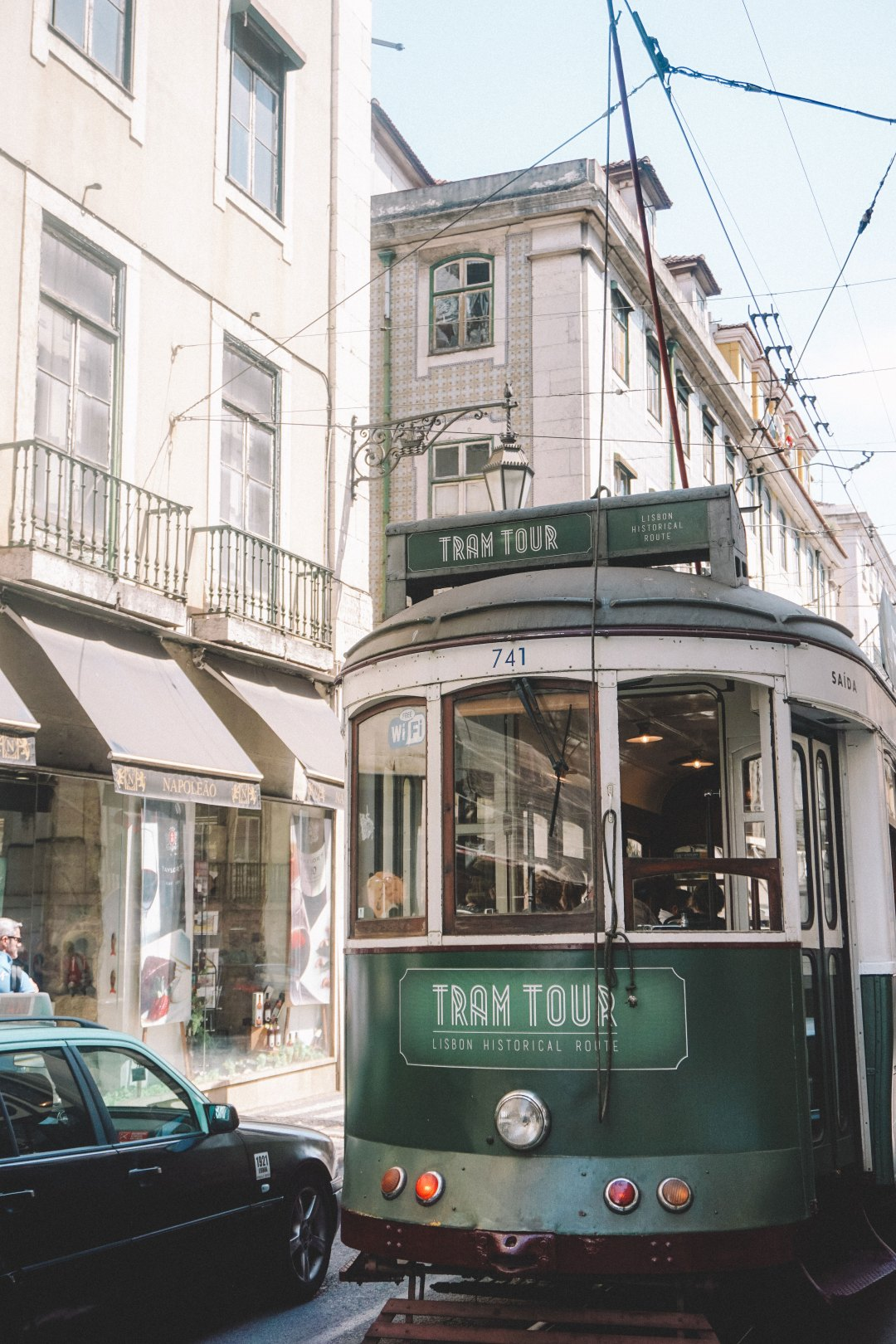 Tram. Lisbon City Guide, Portugal. Eurovision Song Contest 2018 All Aboard. Blog by Skirmantas Petraitis.