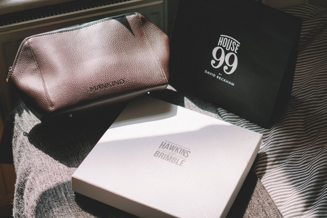 Father's Day 2018 Gift Guide featuring Hawkins and Brimble, Neal's Yard Remedies (Covent Garden), House 99 by David Beckham, Jack Black via Mankind. Blog by Skirmantas Petraitis.