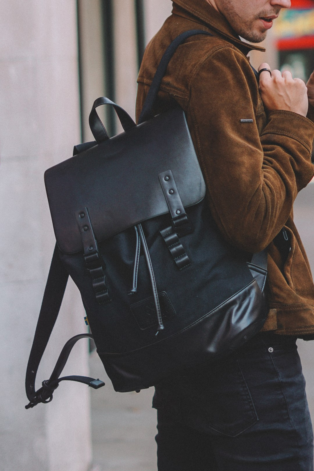 Gaston Luca Pråper Backpack in Black. Blog by Skirmantas Petraitis.