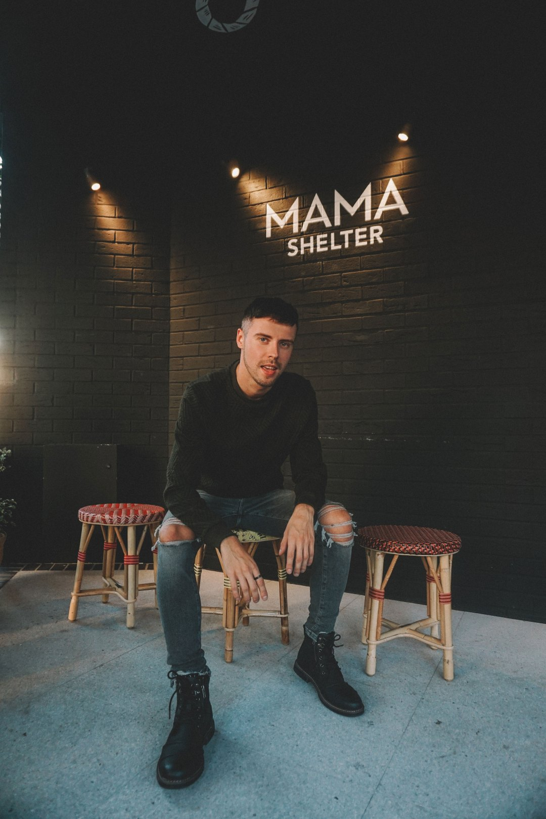Outside Mama Shelter London. Blog by Skirmantas Petraitis.