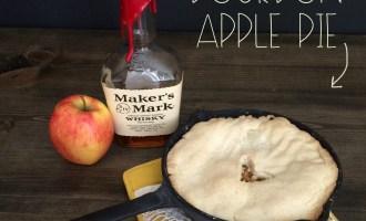 Bourbon Apple Pie | Red Autumn Co