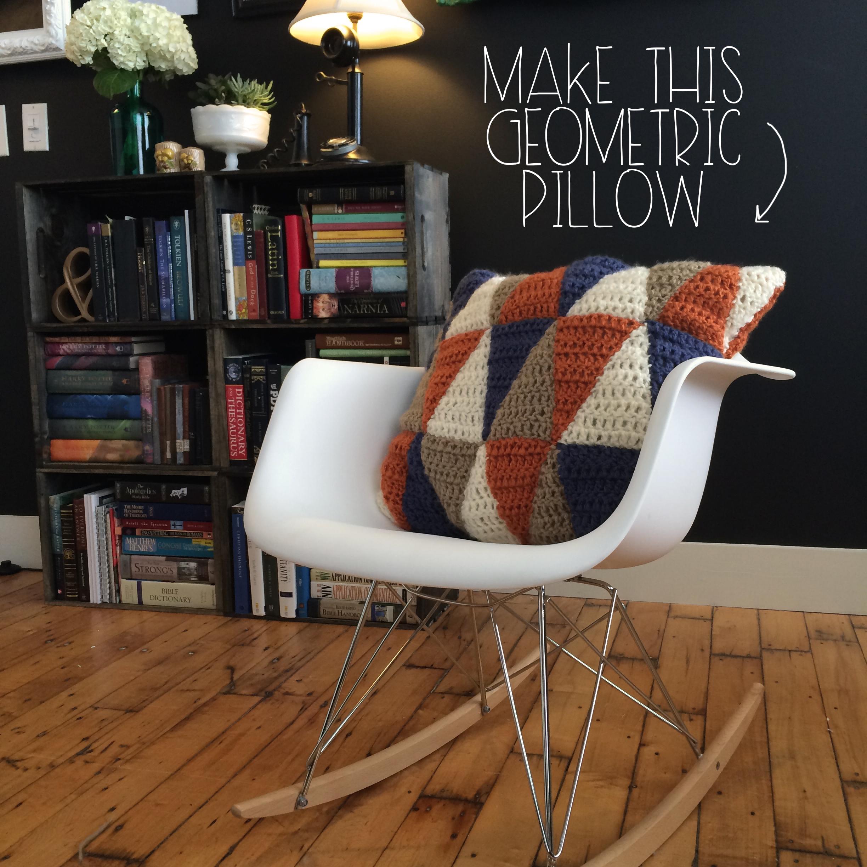 Make This Geometric Pillow | MrsAmberApple