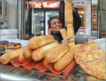 Bread lady...