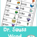 Dr. Seuss Word Cards