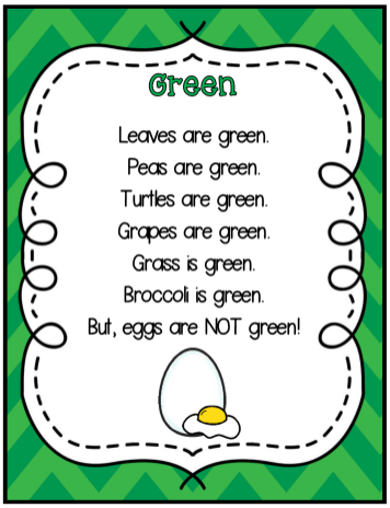 Green Eggs Shared Reading Snip 3