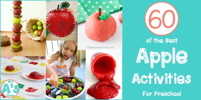 60 Preschool Apple Activities