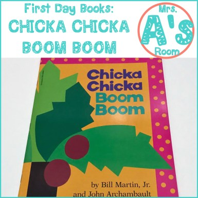 First Day Books: Chicka Chicka Boom Boom
