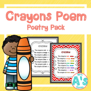 Crayons Poetry Pack