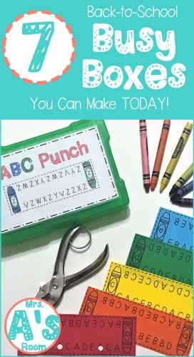 Alphabet Punch Busy Box