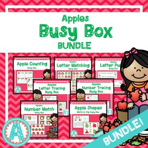 Apples Busy Box Bundle