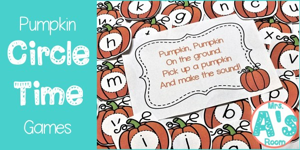 Pumpkin Circle Time Games for Preschool
