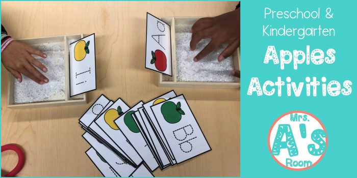 Apples Activities for Preschool
