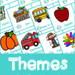 Themes for Pre-K and Kindergarten