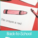 Back-to-School Poems for Preschool