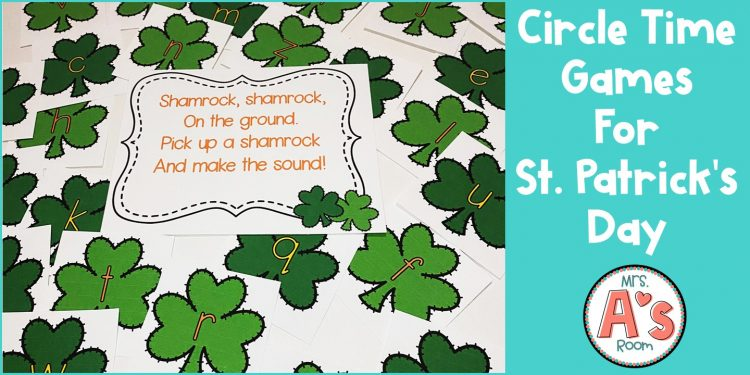 Circle Time Games for St. Patrick's Day