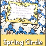 Spring Circle Time Games for Preschool