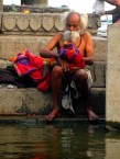 Bathing in River Ganges Varanasi India