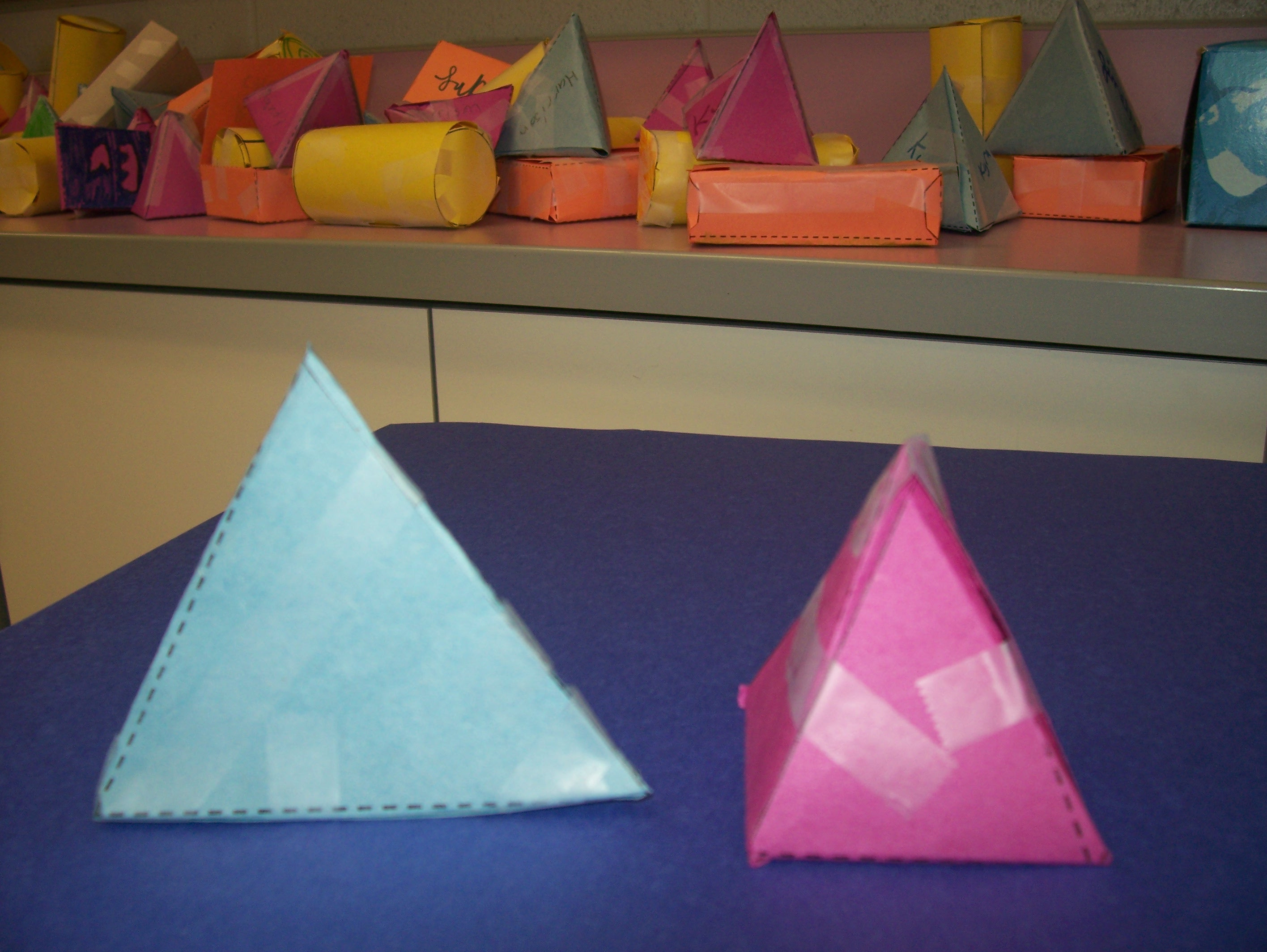 3 D Shapes Something New To Play With