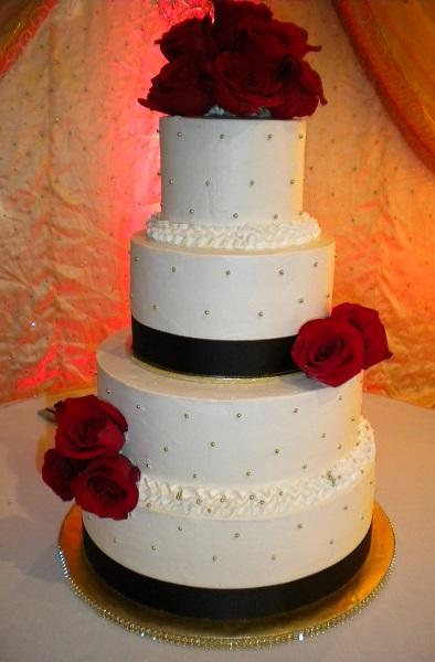 Custom Designed Wedding Cakes Mrs Bs Bakery Little