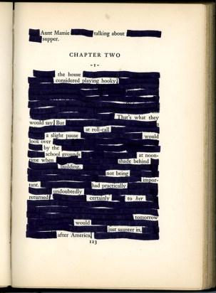 Erasure Poem From Internet