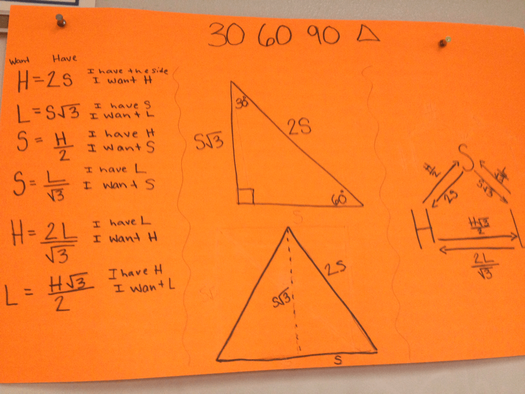 Chapter 5 Special Right Triangles