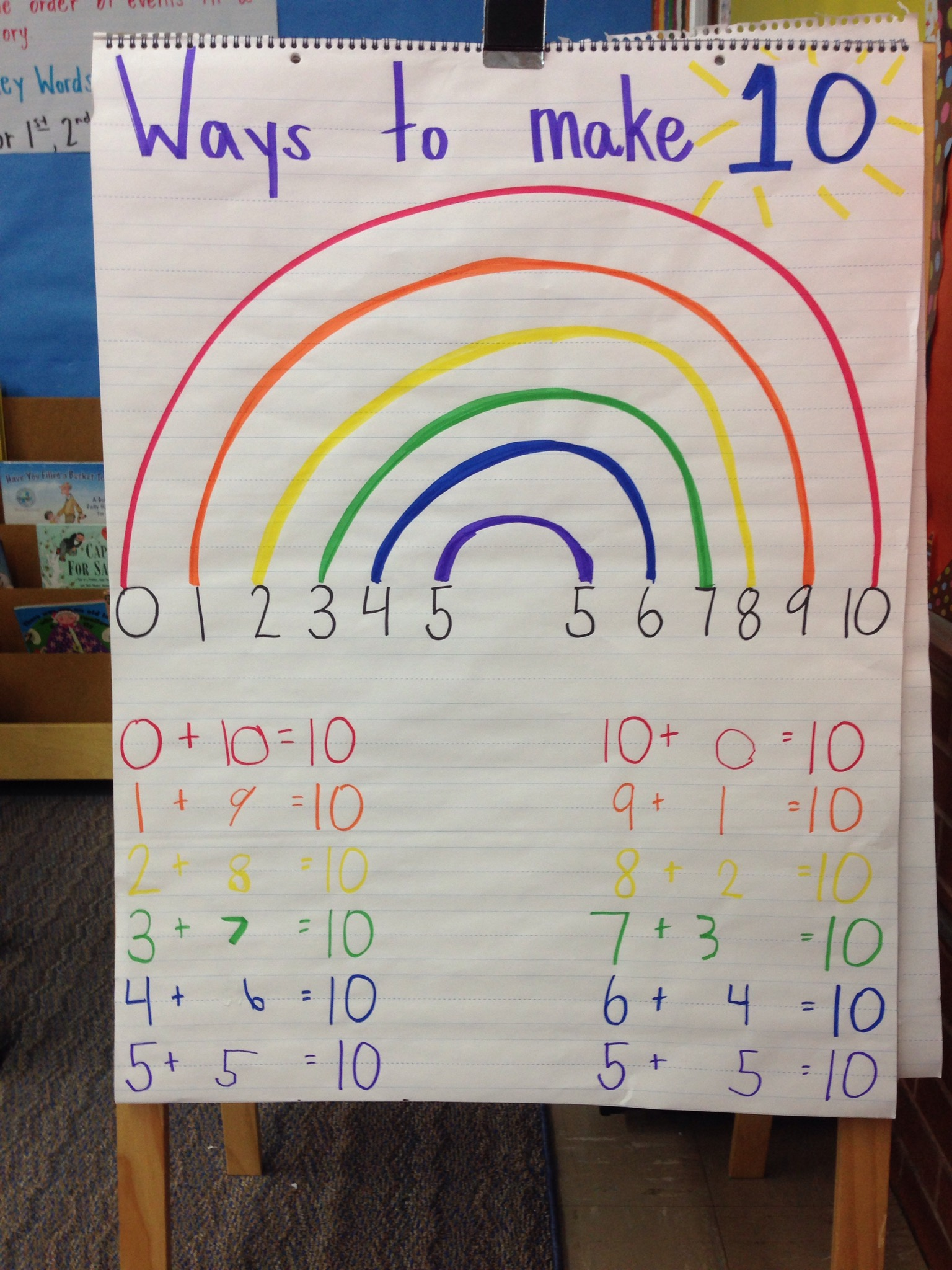Ways To Make 10 Rainbow