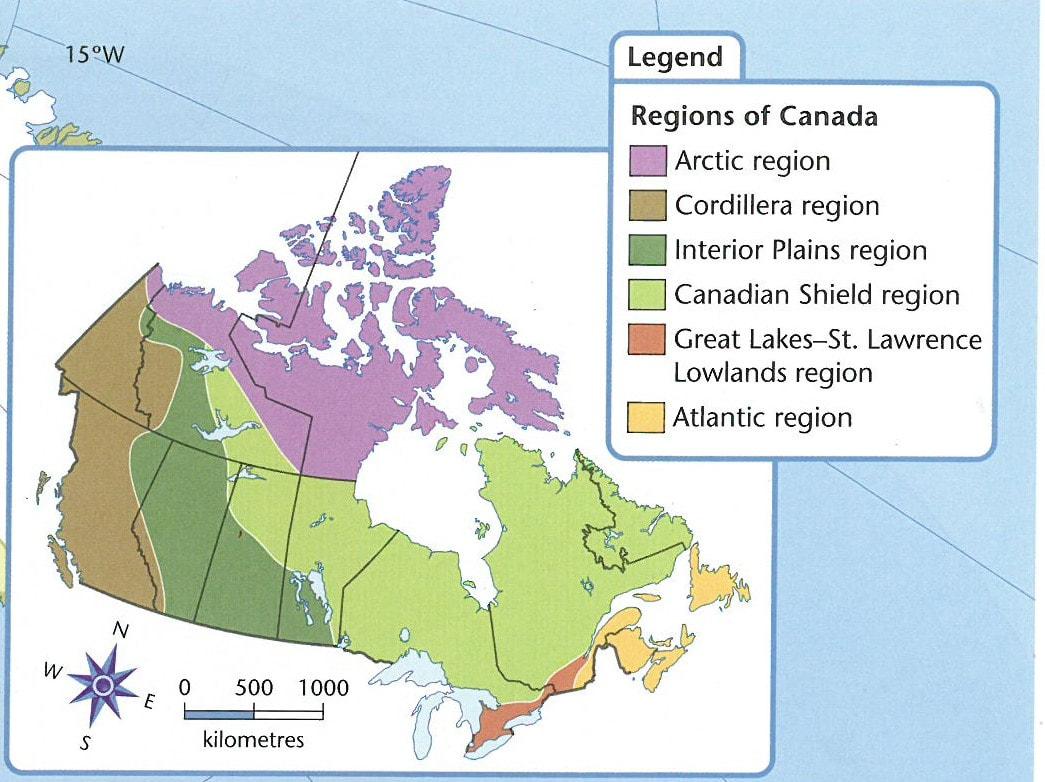 Canadian Regions General Info