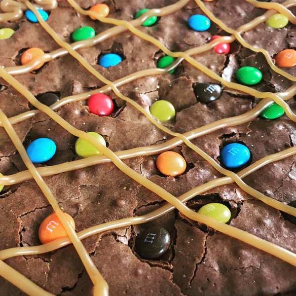 M&M Brownie