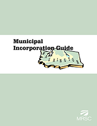 Cover of Municipal Incorporation Guide