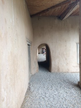 We went to the Hacienda de los Martinez. It is an authentic hacienda rebuilt from the descriptions in the owner's will.