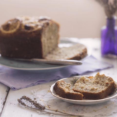 Lavender Lemon Bread