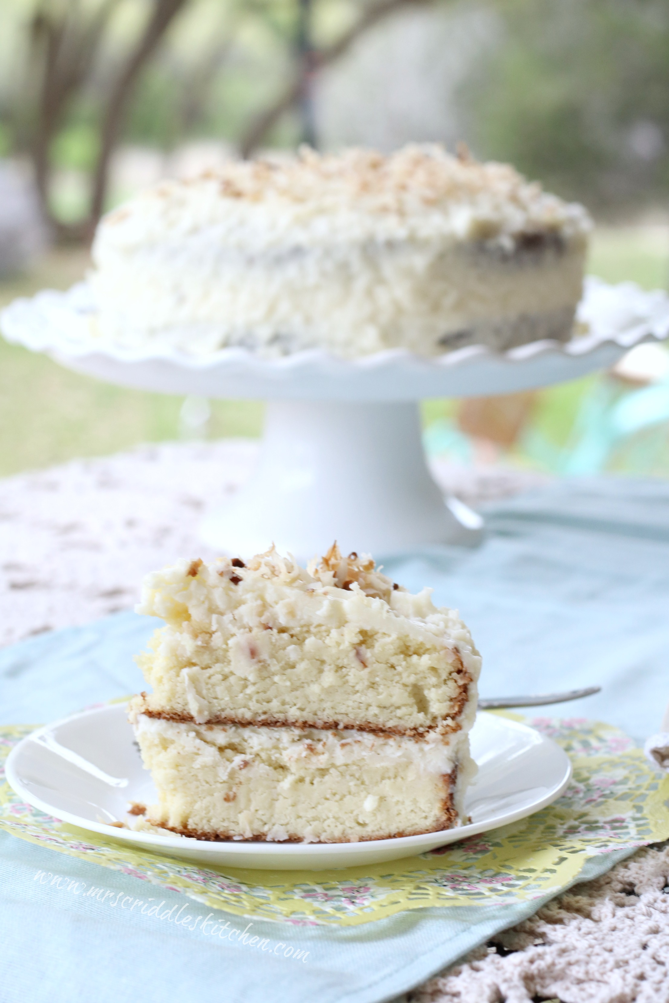 Coconut Cake Mrs Criddles Kitchen