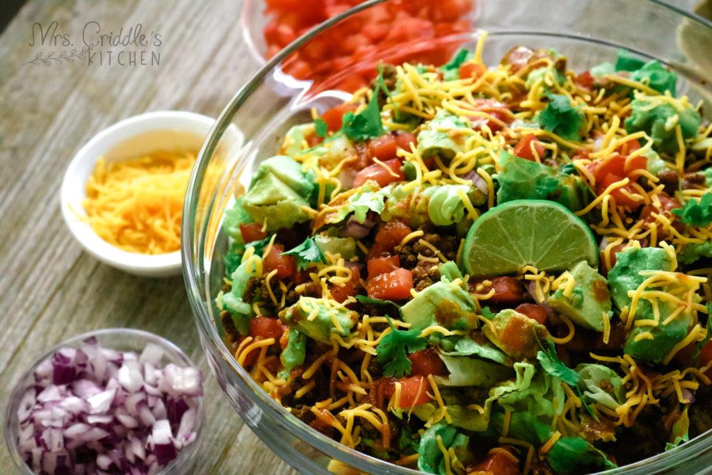 Rosas Taco Salad Carbs Novocom Top